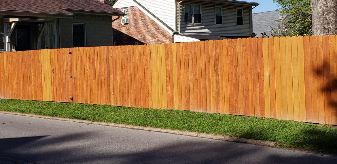 Staining Your Wooden Fence: Pro Tips